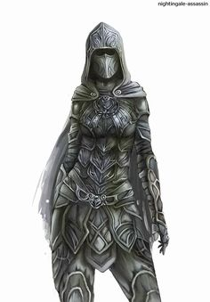 Skyrim Nightingale Armor, Lion Sculpture, Darth Vader, Statue, Fictional Characters, Fairy, Drawings, Fantasy Characters, Fairies