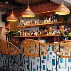 fayuca restaurant interior project bamboo and wood pendants lighting lamp bamboo