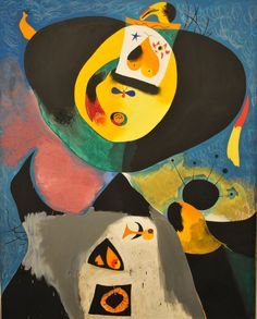 Joan Miro - Portrait No, 1 at Baltimore Art Museum | Flickr - Photo Sharing!