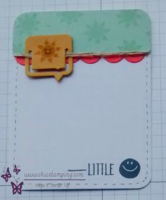 DIY project life card series paper clips 4, handmade by www.chicstamping.com