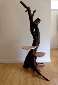 cat tree driftwood - Google Search