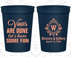 Monogram Cups, Monogram Cup, Monogram Wedding Cups, Monogram Stadium Cups, Monogrammed Plastic Cups, Monogrammed Cups (62)