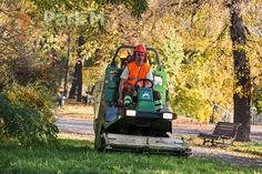 Koszenie trawników - profesjonalny sprzęt