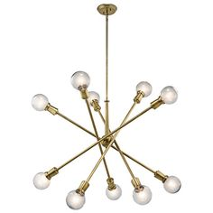 Found it at AllModern - Pembroke Pines 10 Light Sputnik Chandelier