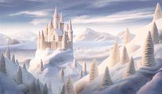 Imagem: 'Castelo de chocolate branco' (© Carl Warner)