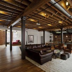 Exposed Basement Ceiling Ideas | Exposed Basement Ceiling http://www.houzz.com/ductwork/ls=4