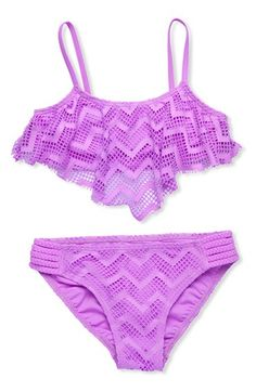 Gossip Girl Two-Piece Swimsuit (Big Girls) available at #Nordstrom