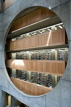 Exeter Library in Exeter by Louis Kahn