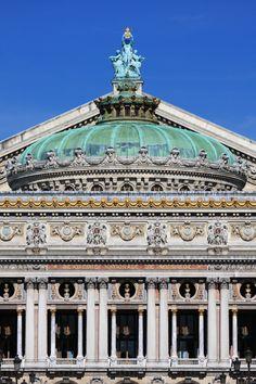 Paris Opera dome (Palais Garnier)