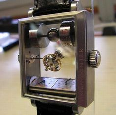 Mysterious Automatic Double Axis Tourbillon Watch