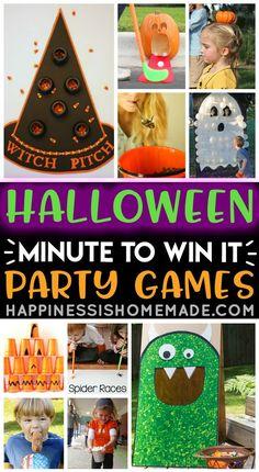 Halloween Tags, Halloween Class Party, Halloween Activities For Kids, Halloween Designs, Kids Party Games, Halloween Birthday, Holidays Halloween, Halloween Games For Adults, Halloween Carnival Games