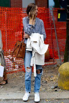 Parisienne: STRIPED SHIRTS