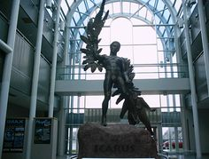 Icarus statue at the Air Force Museum, Wright-Patterson Air Force Base, Dayton, OH.