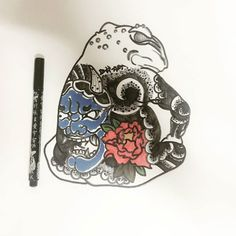 awesome Top 100 frog tattoos - http://4develop.com.ua/top-100-frog-tattoos/
