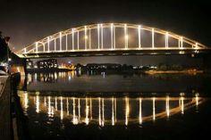 Foto van de wilhelmina brug.