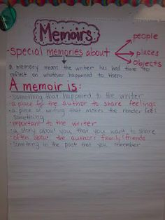Memoirs and Finishing Book Clubs as seen on Fifth Grade Flock  www.fifthgradeflock.com