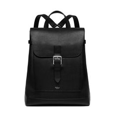 Mulberry - Chiltern Backpack in Black Natural Grain Leather