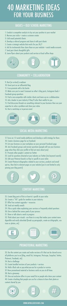 Business/Money Tips 40-marketing-ideas-for-your-small-business