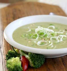 Zuppa di broccoli al