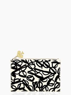 Literary Glasses Pencil Pouch Set by Kate Spade New York.