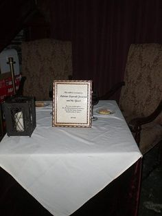 """Muriel's restaurant's Ghost Table, 801 Chartres St. Antoine Lepardi Jourdan, is the """"resident ghost"""" of Muriel's and every night the restaurant sets out a table with two glasses of red wine and two slices of dry white bread for Antoine and his unknown afterworld companion."""