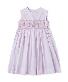 Smocked Multi Color Daisy Dress  $30.00