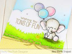 Surprise Flap Card & Pretty Pink Posh 2nd Birthday Hop