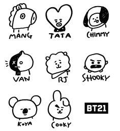 Undying Lessons How To Draw Bts Easy 2019 - Moyiki Sites Bts Chibi, Foto Bts, Bts Photo, Bts Bangtan Boy, Bts Jimin, Bts Tattoos, Tatoos, Kpop Drawings, Line Friends