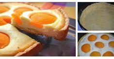 Fotopostup: Broskyňovo-tvarohový koláč I Want Food, Pudding, Pie, Eggs, Breakfast, Desserts, Basket, Torte, Morning Coffee