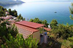 Ausblick auf das Meer von Camping Nevio.