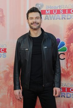 Pin for Later: Hot Music Stars Hit the Red Carpet at the iHeartRadio Awards Ryan Seacrest