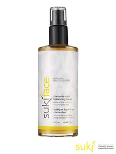 sukiface® concentrated balancing toner ~ calms & soothes irritation & redness, reduces blemishes & inflammation, prepares skin for the treatments & moisturizers that follow, restores skin's natural ph #suki #skincare