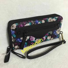 Steve Madden Watercolor Floral Double Zip Wallet … ($30) is on sale on Mercari, check it out!