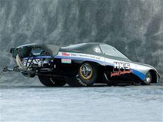 HKS 1,455-horsepower 2001 Toyota Supra drag car