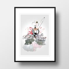 "A4 Artprint ""Mademoiselle"" in Urban Art & Drucke"