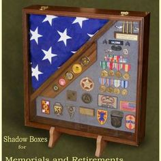 Custom Shadow Boxes And Display Cases For Military Retirements by Greg Seitz