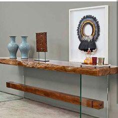 Hallway Furniture, Space Furniture, Wood Furniture, Mesa Live Edge, Live Edge Table, Dining Cabinet, Dining Room Table, Entrance Table, Entryway Tables