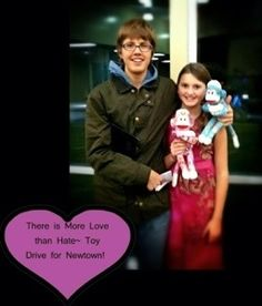 There is More Love than Hate- Nebraska shows Newtown it's Love!