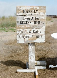 Make a great handmade gift for the couple to use at wedding and then perhaps a backyard ornament. :)