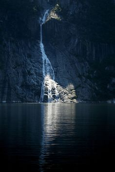 Waterfall / Norway