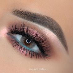 75 Most Gorgeous Pink Smokey Eyes Makeup Inspiration For Prom And Wedding – Page 33 of 75 – Diaror Diary – Maquillage des Yeux Pink Smokey Eye, Smokey Eyes, Smokey Eye Makeup, Makeup For Brown Eyes, Natural Smokey Eye, Black Smokey, Blue Eyeliner, Eye Makeup Art, Eye Makeup Tips
