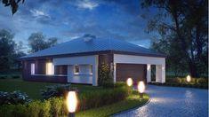 Moderna casa de 1 planta con techo a cuatro aguas y 166 m2-3 Gazebo, Outdoor Structures, Mansions, House Styles, Outdoor Decor, Home Decor, Plane, Future, Log Homes