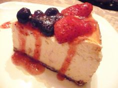 Gordon Ramsay s Baked New York Cheesecake from Food.com:   								This recipe came from the Hell's Kitchen game.