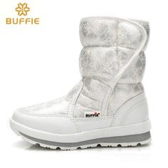 2017 Hot selling Winter Women snow boots Lady warm fur shoe waterproof girl  white Buffie brand fashionable boots free shipping cf8246053d6d