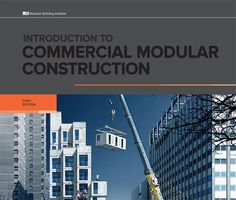 The Modular Building Institute (MBI) along with Clemson University developed Introduction to Commercial Modular Construction textbook over two years with the goal of introducing the reader to an innovative and exciting construction method. This book discusses the modular building process compared to traditional site-built construction and is designed to help the reader understand terminology and concepts of modular building including client needs, design, fabrication, transportation, and…
