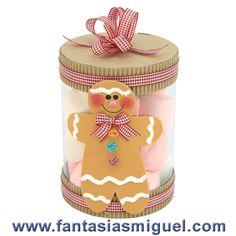 dulceros para navidad con galletas jengibre - Buscar con Google