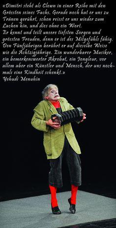 Clown Dimitri Foto: Adriano Heitmann