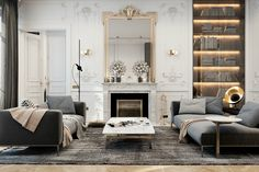 This Parisian apartment by Diff studio combine the traditional french elegance with the contemporary style. Geographical location is initially dictated to us the future style of this interior. The apartment is...