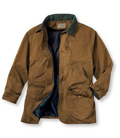 Upland Field Coat, Waxed Cotton: Outerwear   Free Shipping at L.L.Bean
