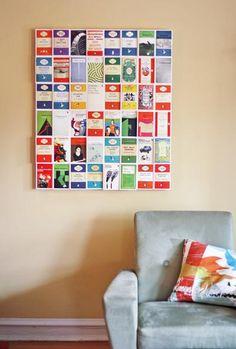 DIY postcard wall art DIY Wall Art DIY Crafts DIY Home